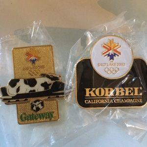 Other - 3 for $15 Olympic Pin Salt Lake Gateway KorbelWine